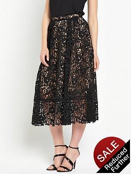 warehouse-lace-prom-midi-skirt