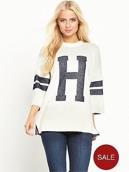 hilfiger-denim-34-sleeve-sweater