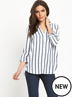 river-island-stripe-casual-shirt