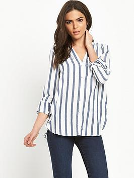 river-island-stripe-casual-shirt