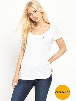 hilfiger-denim-hilfiger-denim-original-melange-knit-t-shirt