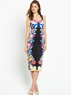ted-baker-tapestry-floral-buckle-dressnbsp
