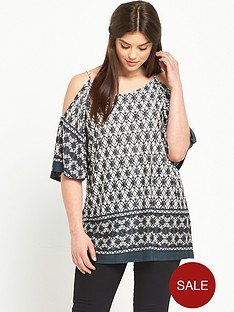 so-fabulous-cold-shoulder-print-jersey-top