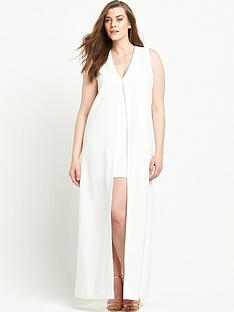 lavish-alice-curve-chiffon-overlay-mini-dress