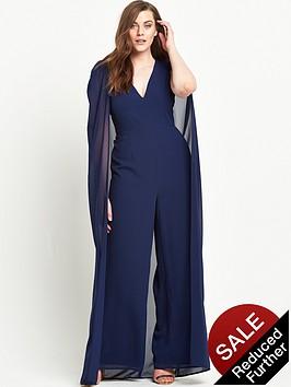 lavish-alice-curve-chiffon-cape-deep-plunge-wide-leg-jumpsuit