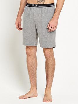 Boss   Bodywear Core Lounge Shorts - Grey