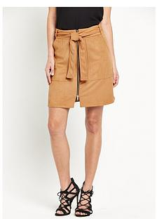 river-island-suedette-belted-skirt