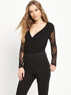 v-by-very-lace-sleeve-jersey-bodysuitnbsp