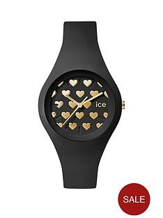 ice-watch-ice-black-gold-heart-dial-black-strap-ladies-watch