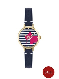 radley-radley-striped-dial-pink-dog-navy-leather-strap-ladies-watch