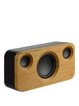 Kitsound Soul 2 Rechargeable Wooden Bluetooth Sound System