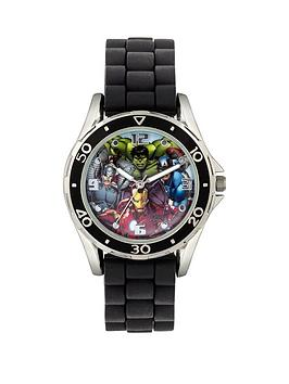 the-avengers-avengers-black-strap-kids-watch