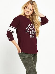 superdry-tri-league-baseball-top