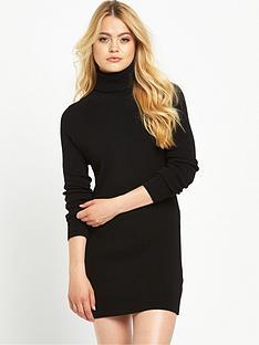 superdry-nordic-knit-funnel-neck-dress