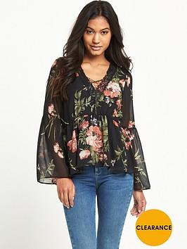 lipsy-lipsy-loves-michelle-keegan-cross-front-print-blouse