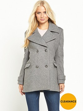 superdry-classic-peacoatnbsp--grey-herringbone