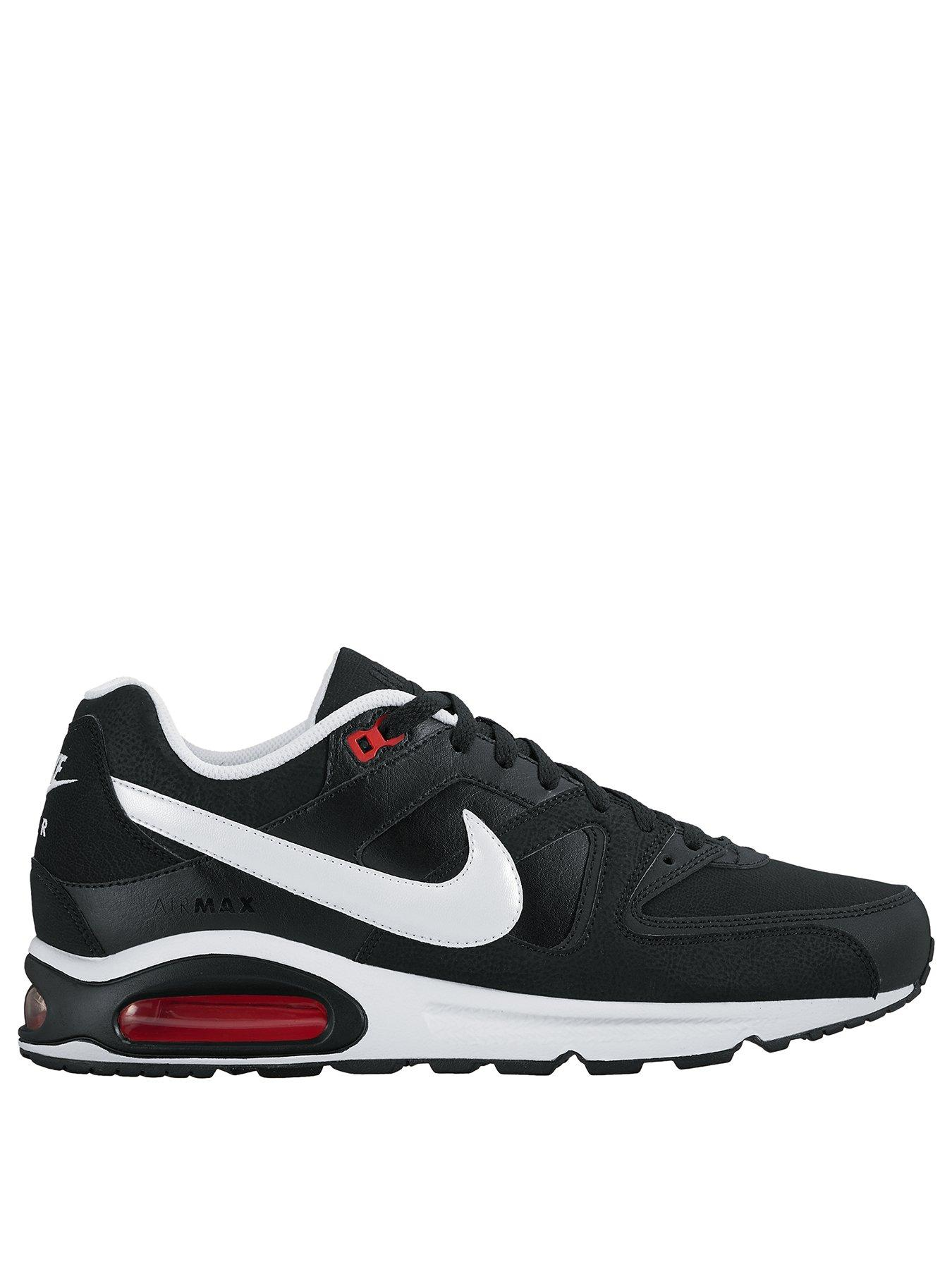 best sneakers ddfb6 ade2c Nike Air Max Command Leather Blackwhitedark Grey