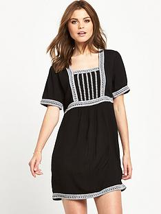 v-by-very-embroidered-tunic-dress-monochromenbsp