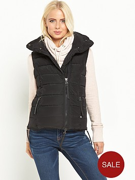 superdry-nordic-gilet-black