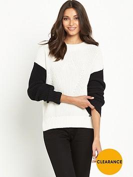 superdry-colour-block-rib-knit-jumper-blackwhite