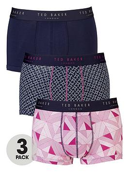 ted-baker-3pk-patternplain-trunk