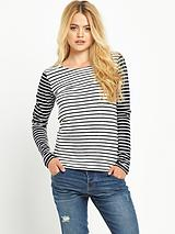 Superdry Textured Breton Top