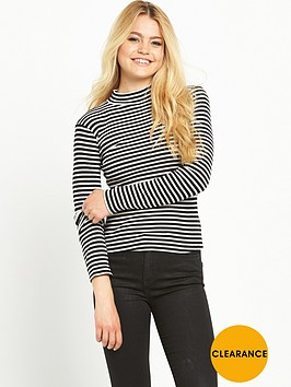 superdry-mock-neck-rib-top