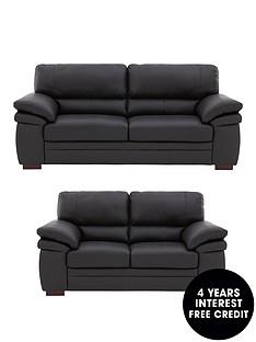 freeman-3-seaternbsp-2-seater-premium-leather-sofa-set-buy-and-save