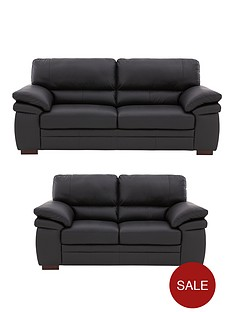 freeman-3-seaternbsp-2-seater-premium-leather-sofa-set-buy-and-save