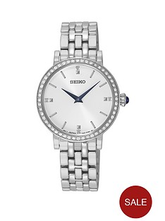 seiko-seiko-white-sunray-dial-swarovski-crystal-set-blue-hands-ladies-bracelet-watch