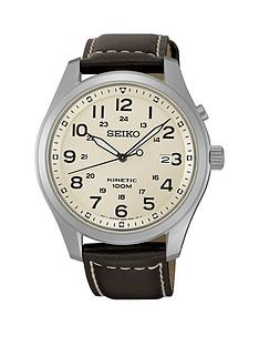 seiko-seiko-men039s-kinetic-stainless-steel-leather-strap-watch