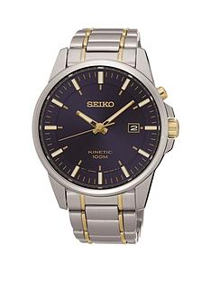 seiko-seiko-kinetic-blue-dial-stainless-steel-two-tone-bracelet-mens-watch