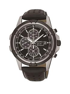 seiko-seiko-solar-black-dial-chronograph-leather-strap-mens-watch