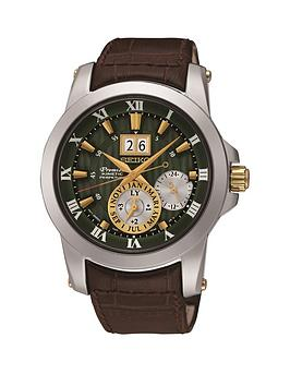 seiko-seiko-kinetic-novak-djokovic-limited-edition-green-dial-brown-leather-strap-mens-watch