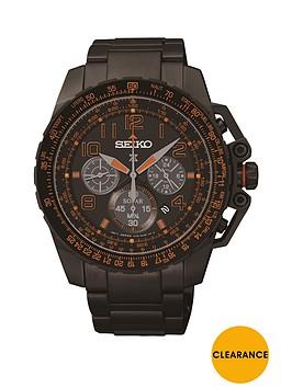 seiko-seiko-prospex-black-dial-orange-highlights-solar-chornograph-mens-watch