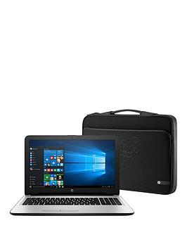 hp-15--ac178na-intel-core-i3-processor-6gb-ram-1tb-hard-drive-156in-laptop-with-intel-hd-graphics-silver-amp-hp-laptop-sleeve