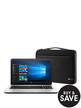hp-15-ac178na-intelreg-coretrade-i3-processor-6gb-ram-1tb-hard-drive-156-inch-laptop-with-intelreg-hd-graphics-and-optional-microsoft-office-365-whitesilver