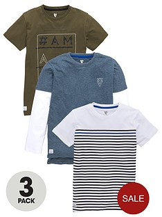 v-by-very-boys-slogan-and-stripe-t-shirts-3-pack