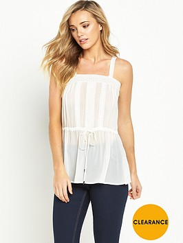 v-by-very-drawstring-lace-trim-cami