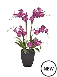 5-stem-3ft-artificial-orchid-in-pot-lilac