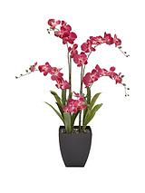 5-stem 3ft Artifical Orchid in Pot – Pink