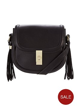 v-by-very-double-tassel-saddle-bag