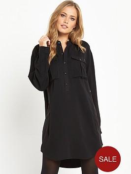 g-star-raw-rovik-vf-shirt-dress-black