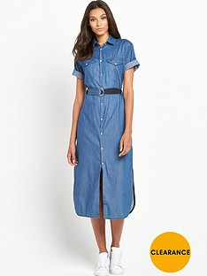 g-star-raw-takoma-midi-denim-dress