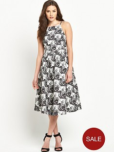 v-by-very-jacquard-midi-prom-dress