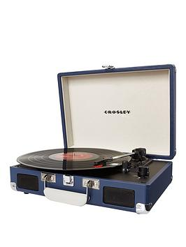 Crosley Cruiser Portable Turntable  Dark Blue