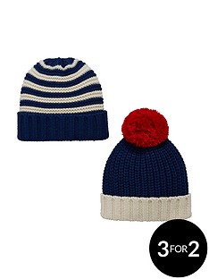 v-by-very-boys-chunky-knitted-hats-2-pack