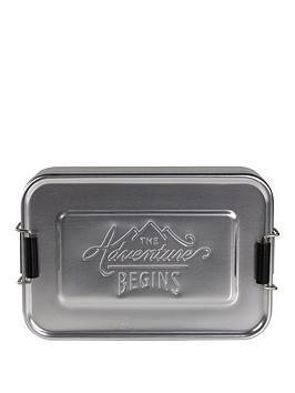 GentlemenS Hardware Gentlemen&039S Hardware Aluminium Lunch Tin