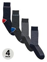 Jack & Jones 4pk pattern sock