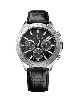 tommy-hilfiger-tommy-hilfiger-black-dial-black-leather-strap-mens-chronograph-watch